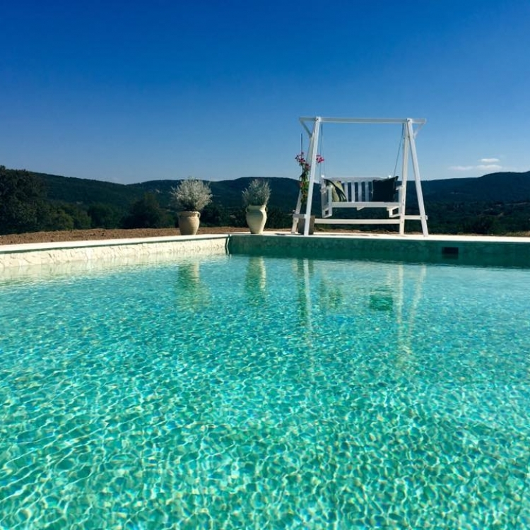 Outdoor pool Balaiana Eco Retreat Sardinia